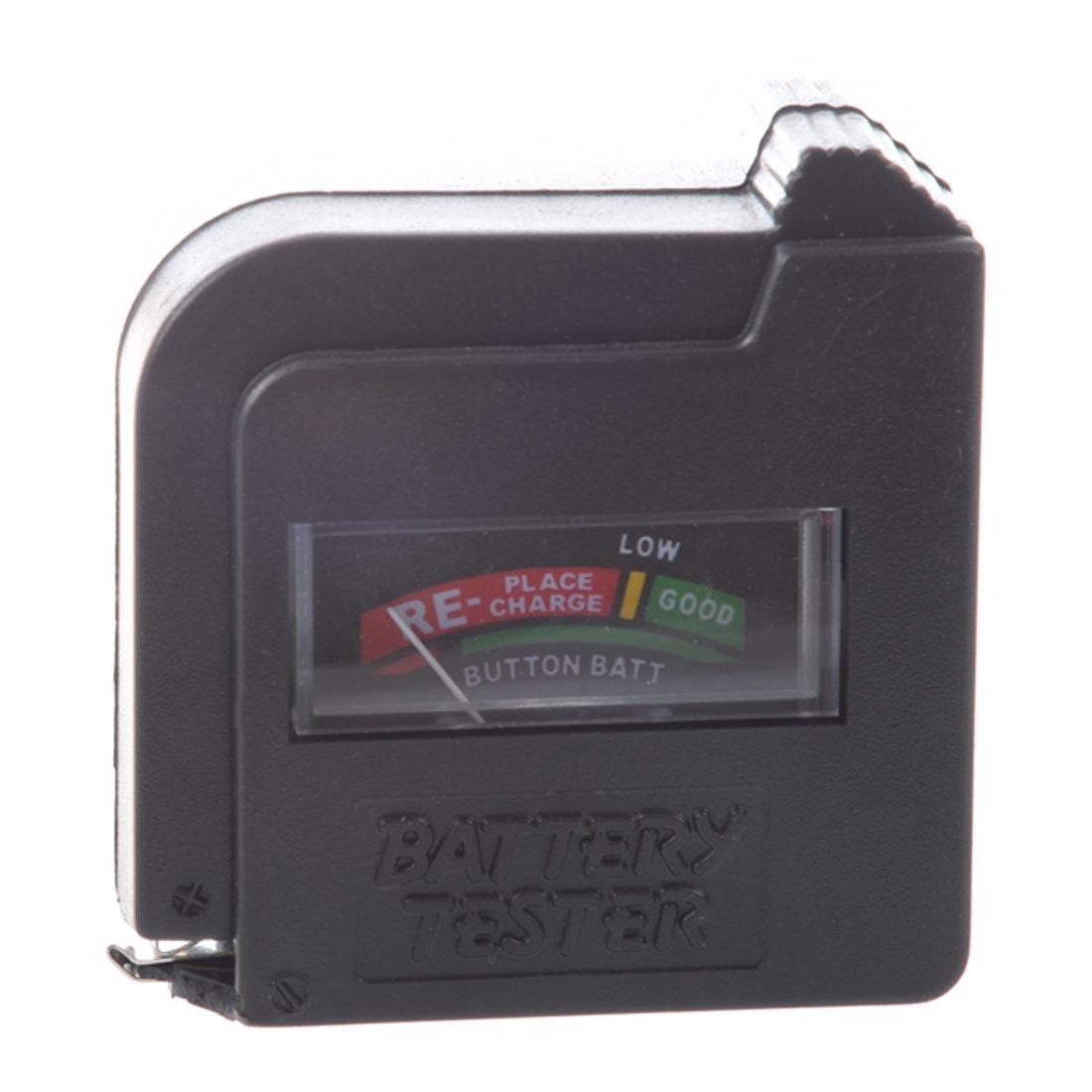 SODIAL (R) kompakten, einfach zu bedienende Akkulade Tester 009211