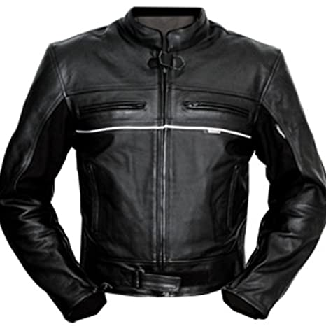 4LIMIT Sports 100800000102 Chaqueta para Moto de Cuero ...