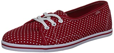 Vans Zapato Del Barco V, Jungen Sportschuhe, rot - rot - Größe: EU 28 (UK 10)