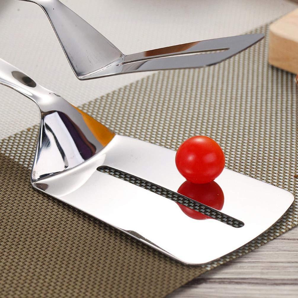 Gaddrt - Pinza para barbacoa, acero inoxidable, diseño de pala fría, herramienta de cocina: Amazon.es: Hogar