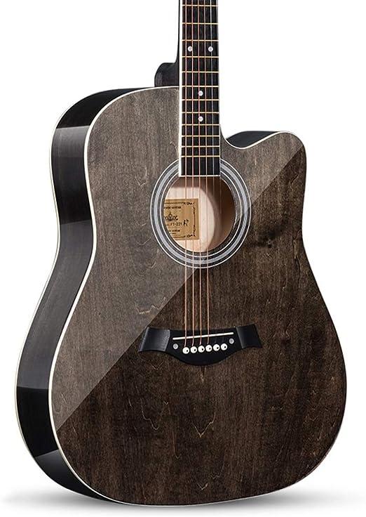 BAIYING-Guitarra Acústica Principiante Guitarra Clásica 41 ...