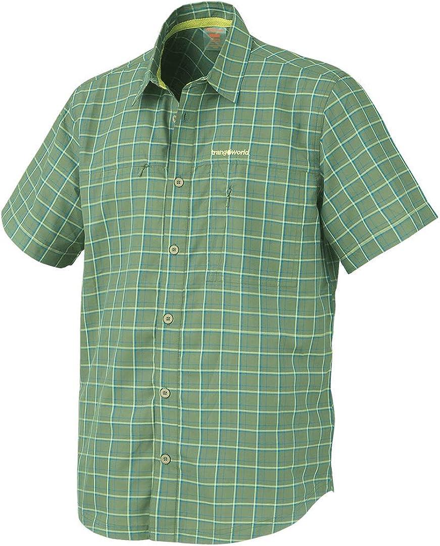 Hombre Verde Cala M Trangoworld Waoi Camisa