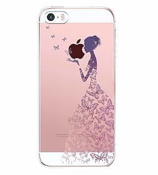 AIsoar iPhone SE iPhone 5 Apple iPhone 5S Funda Panda Mármol ...