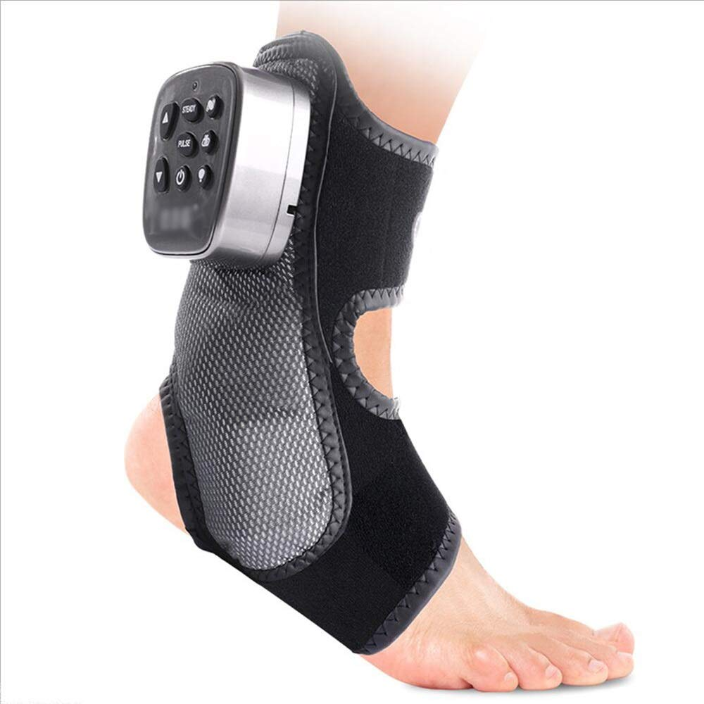 MEIDUO マッサージャー 癒しの救済のためのマッサージャーの足首のサポートアキレス腱の足首の腱のブレースTendonの足底の筋膜炎足のスプリントシルバー 高齢者のための B07DN3Q9X7