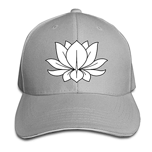 Amazon.com  Friday Fire Lotus Flower Design Floral Sandwich Hats Baseball  Cap Hat Snapback Hat Dad Hat  Clothing 43a3afba6657