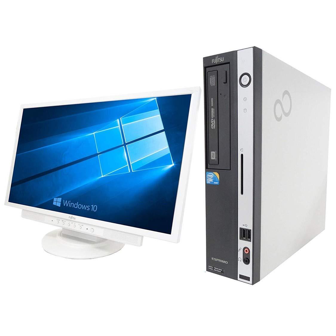 【Microsoft Office 2010搭載】【Win 10搭載】【超大画面22インチ液晶セット】富士通 D750/A/新世代Core i5 3.2GHz/メモリ4GB/HDD500GB/DVDスーパーマルチ/中古デスクトップパソコン B01M2YNIQG   Win 10搭載