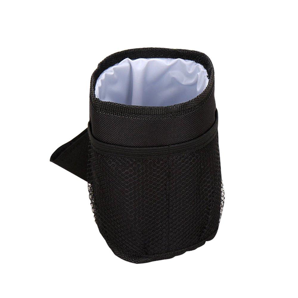 MyLifeUNIT con aislamiento taza soporte para silla de paseo, cochecito de bolsillo, negro BP17JP052