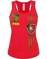 FUSSBALL EM 2016 - PORTUGAL FANSHIRT Tank Top Damen S-XL