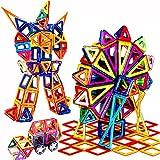 Rrtizan 327 PCS Magnetic Building Blocks Toys Set With Wheels for Kids ...