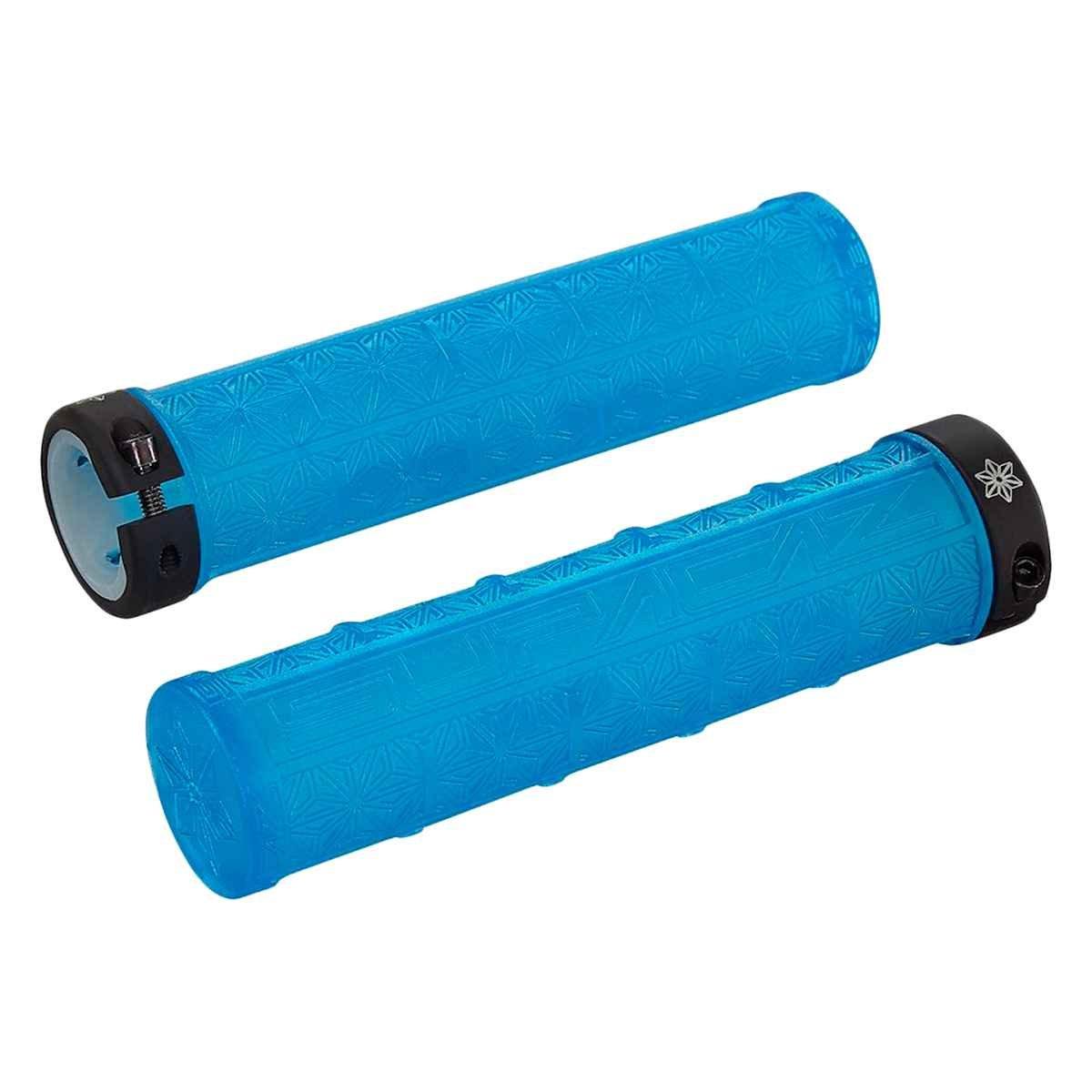 Supacaz Grizips – すべての色 B06Y2H667L Neon Blue Clear Neon Blue Clear