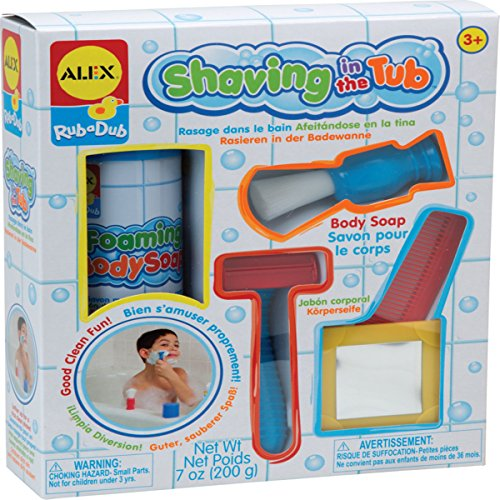 Activity Tub - ALEX Toys Rub a Dub Shaving in the Tub