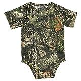 Mossy Oak Camo Baby Diaper Shirt in Break-Up Country