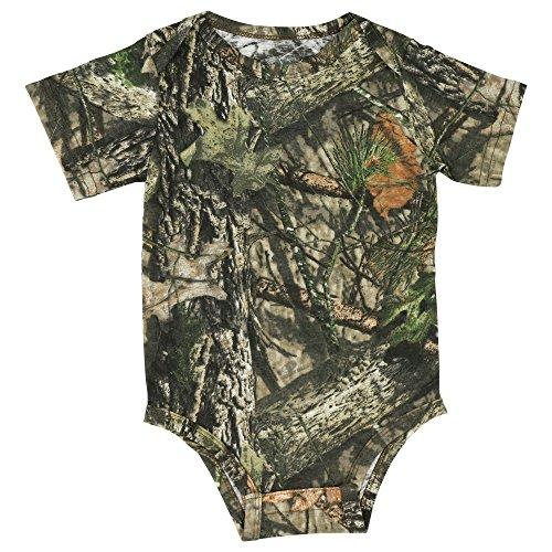 - Mossy Oak Camo Baby Diaper Shirt in Break-Up Country