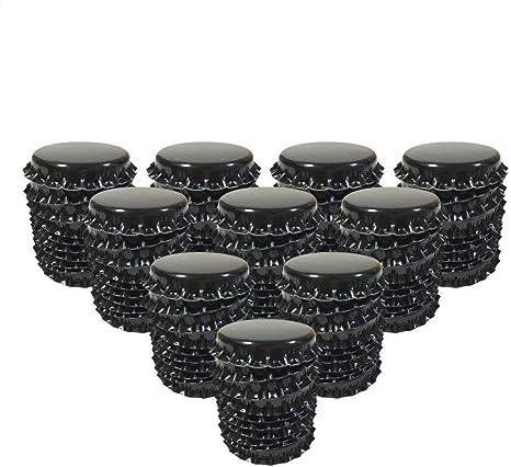 Craft Bottle Caps Flat Decorative Bottle Cap for Hair Bows,DIY Pendants or Craft Scrapbooks White,100 PCS