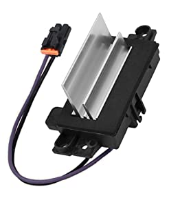 ACauto 4P1516 Heating and Air Conditioning Blower Motor Resistor Replaces 15-81773, 89018778 Fits Chevy Silverado Tahoe Suburban/GMC Sierra Yukon/Buick Rainier & More (Complete Kit with Harness)