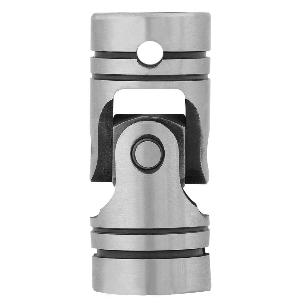 20mm DIY Junta del motor Conector de acoplamiento del motor Eje de la junta de acero de la direcci/ón universal 16mm 20mm