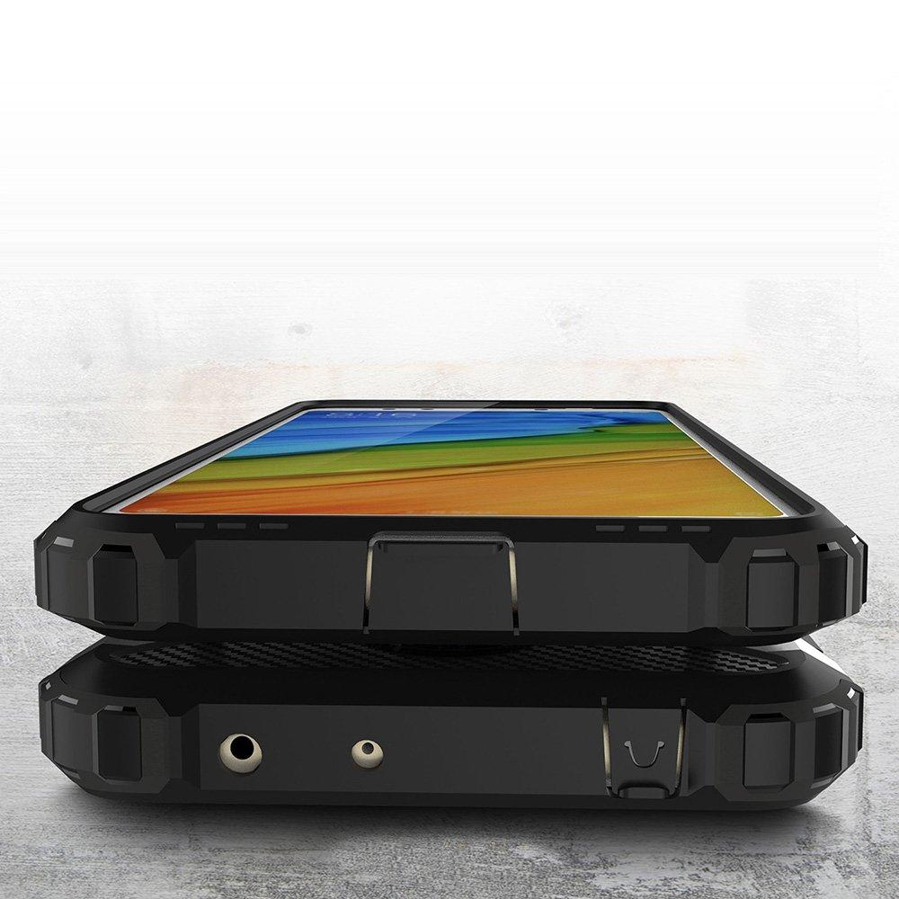 forte,di prima classe tecnologia anti-shock(grigio) PC combinata,una protezione a 360 gradi,durevole Custodie e cover Per XiaoMi RedMi 5 Plus,TPU