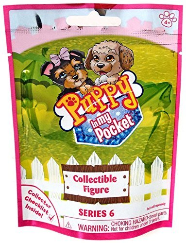 Puppy In My Pocket Series 6 Blind Pack