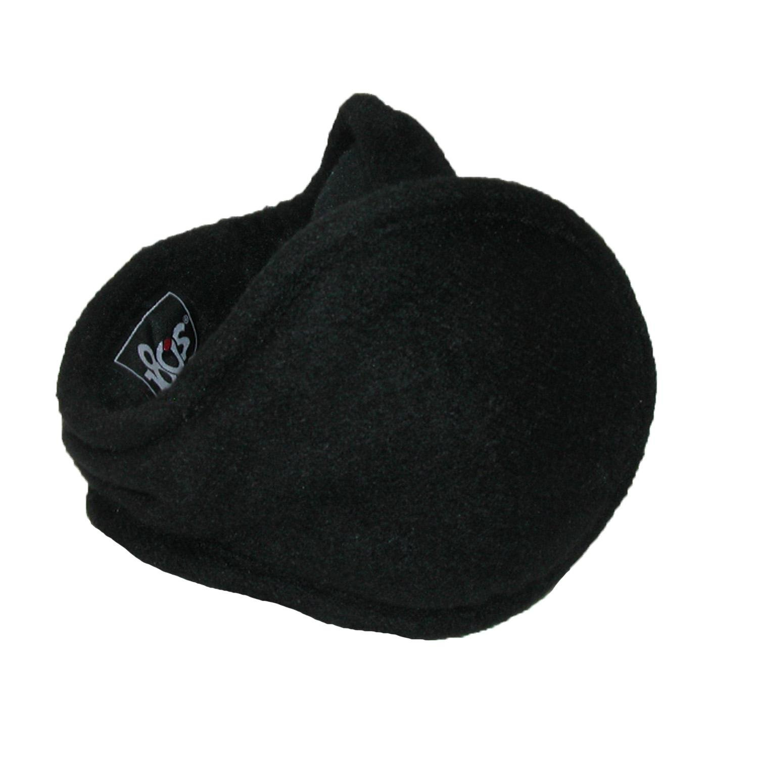 180s Chesterfield Wool Wrap Around Earmuffs, Black