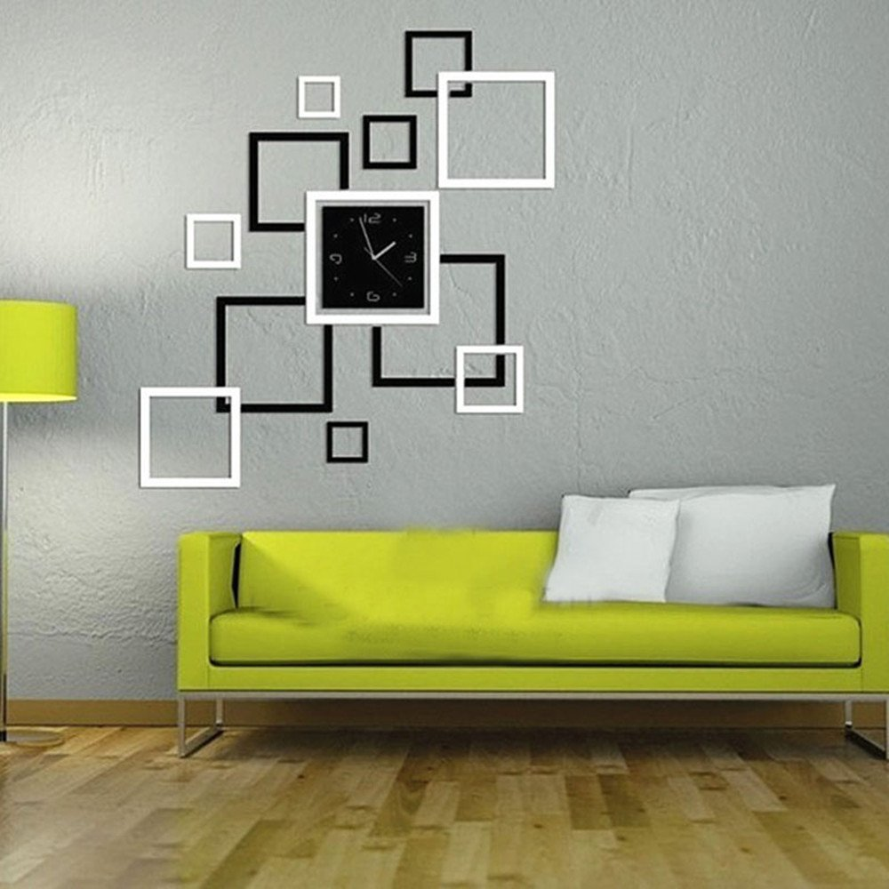 Ouneed/® Arbre Sticker Muraux Photo Cadre D