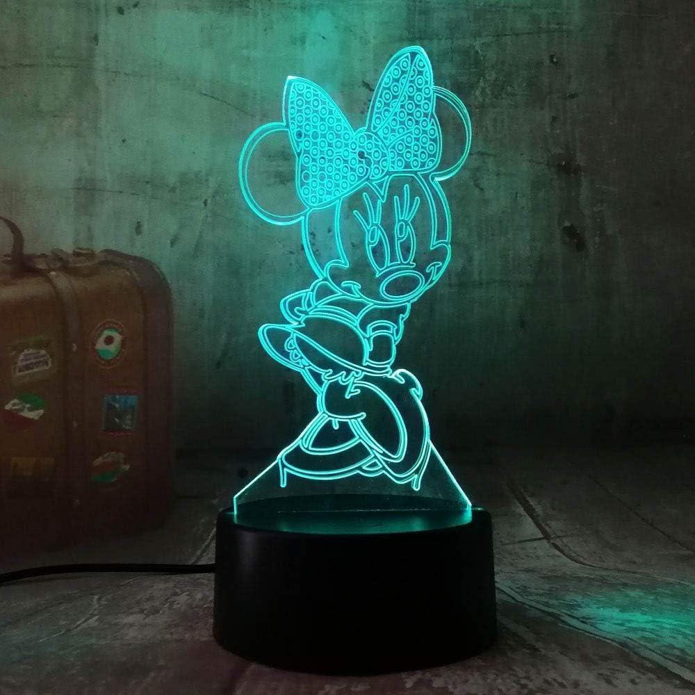 Lampada Da Tavolo Da Tavolo Con 7 Luci Colorate Per Dormire Salta Rana Design 3D Led Night Light Sleep Camera Da Letto Festa Di Compleanno Regali Per Bambini
