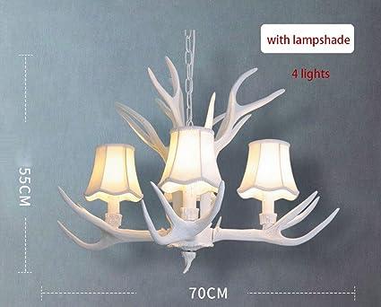 Beleuchtung Esszimmer Style : Antlers kronleuchter retro vintage style harz