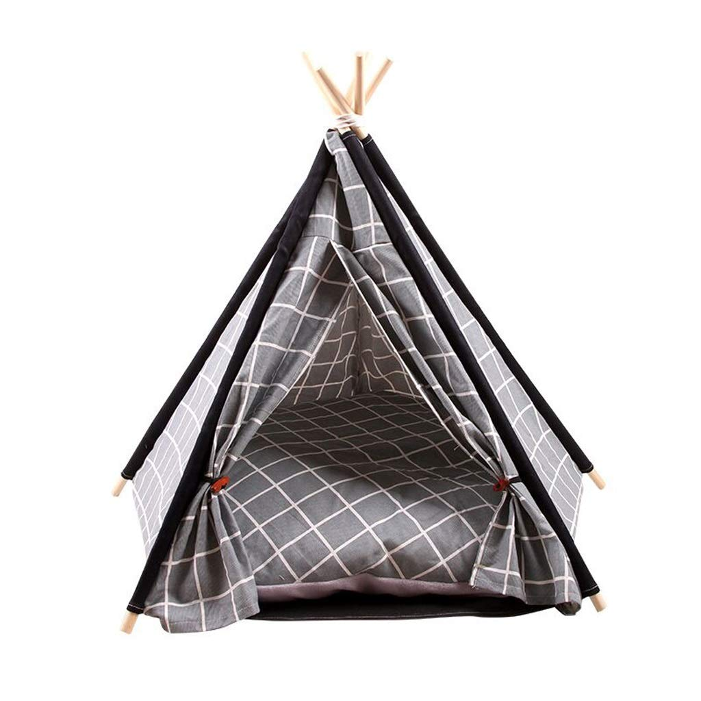 A YXLZZO Pet Nest Four Seasons Universal Pet Tent Nest Removable And Washable Tent To Send A Small Blackboard Mat Pet nest (color   B)