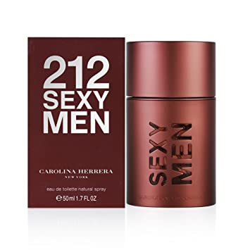a2525bfaf 212 Sexy by Carolina Herrera for Men - Eau de Toilette, 50ml: 212 ...