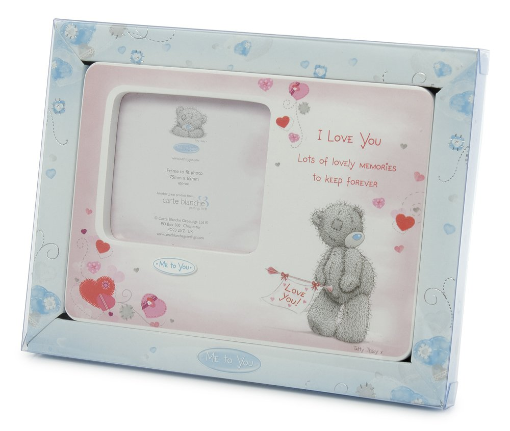 Me to You, Tatty Teddy, I Love You, Pink Picture Frame, 5.5x7.5 ...