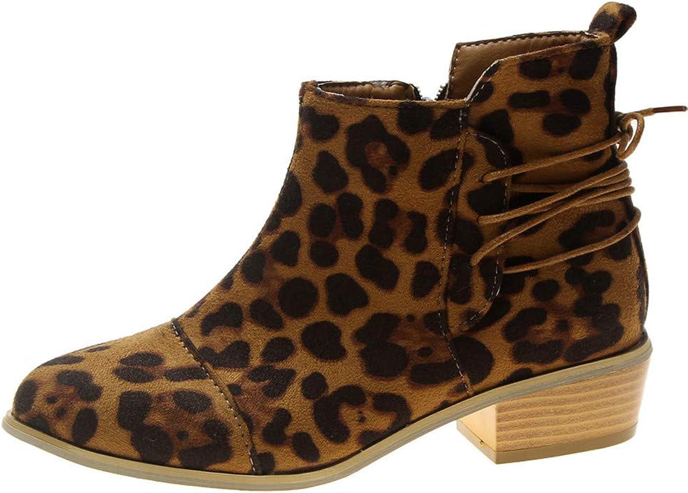 Bottes Femme,Beauty Top Femmes Chelsea Boots Cheville Court