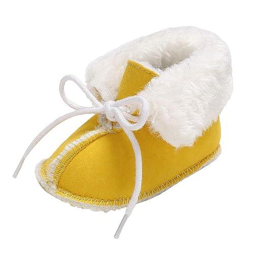 ❤ Amlaiworld Zapatos Deportivos bebé recién Nacido niños niñas Botines Suaves Botas de Nieve de Vendaje para bebé Calzado cálido Zapatillas Zapatitos: ...