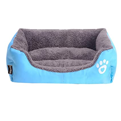Amazon.com : D-4PET Beds&Mats - Waterproof Bottom Soft Fleece Warm ...