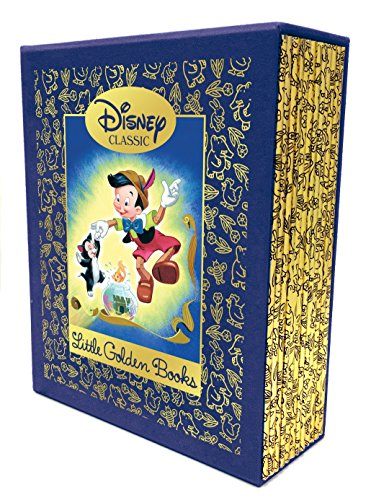 Package Fairy Tie (12 Beloved Disney Classic Little Golden Books (Disney Classic))