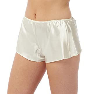 83baf4d563ac BHS Ladies Boxer Style Satin French Knickers White Cream Black Sizes 8-22