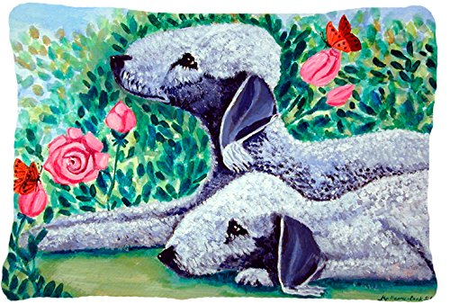 UPC 705332240208, Caroline's Treasures 7512PW1216 Bedlington Terrier Decorative Canvas Fabric Pillow, Large, Multicolor