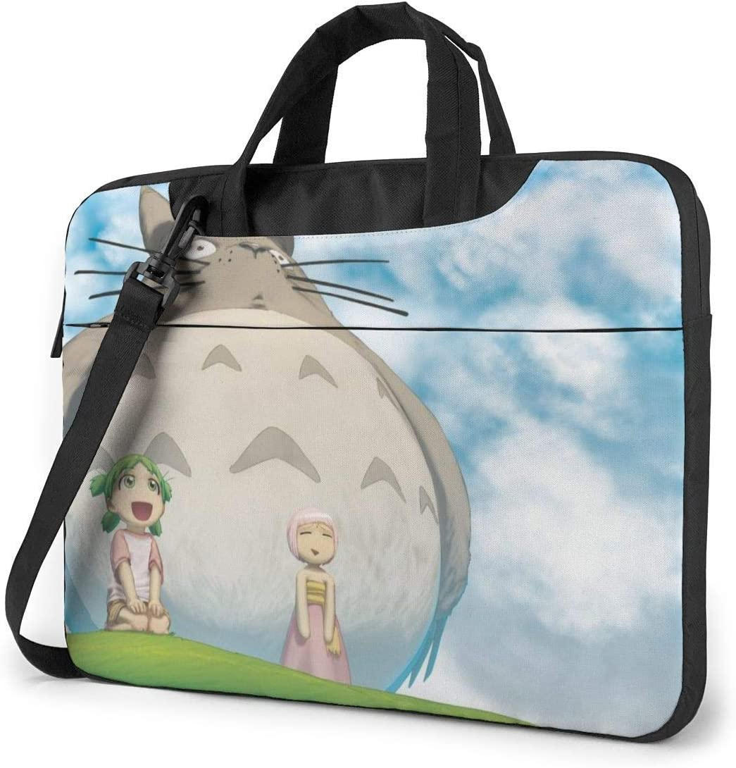 My Neighbor Totoro Laptop Sleeve Bag Case 13 inch MacBook Air Pro Notebook Sleeve Case Portable Briefcase Tote Cases