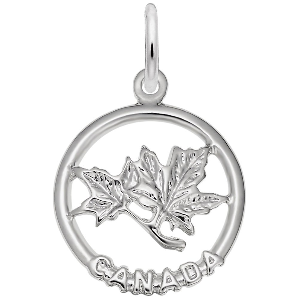 Maple Leaf Charm Charms for Bracelets and Necklaces