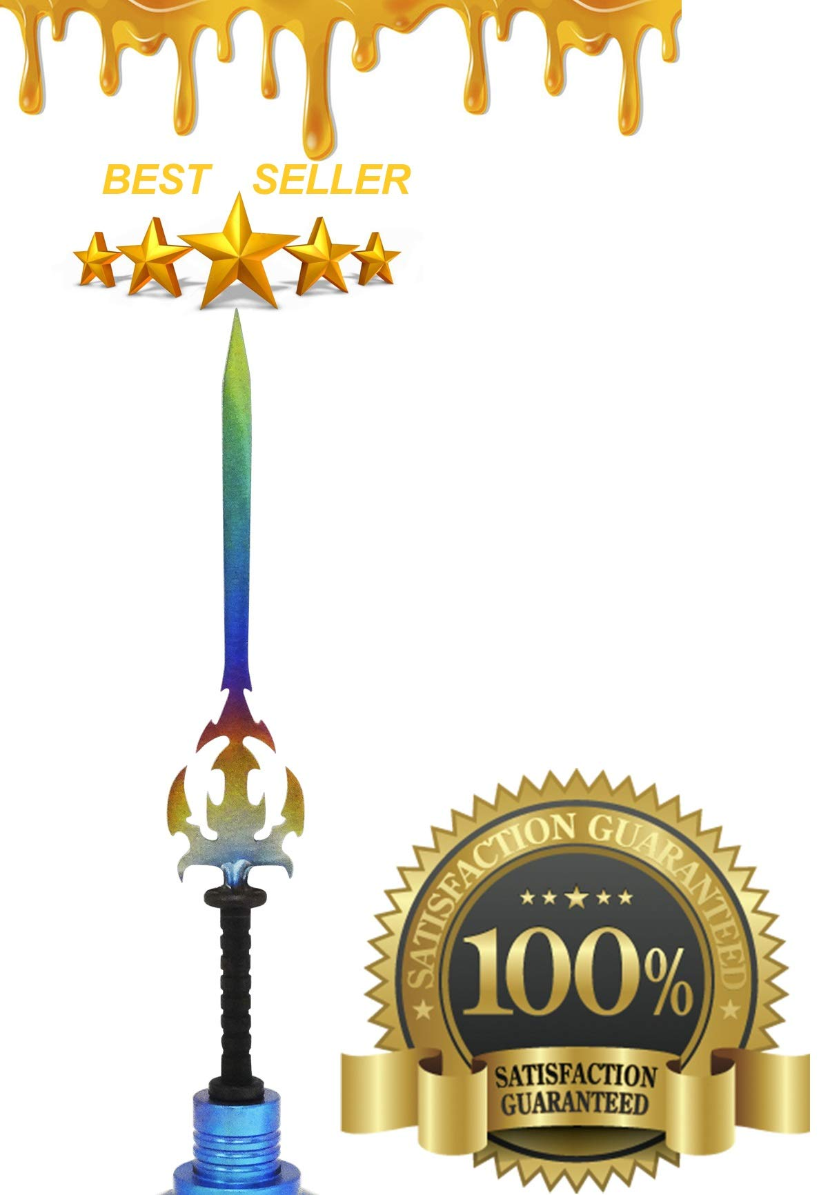Wax Carving Titanium Tool - Kit Phenomenal Multi Colored & Precise Multi Purpose Edges GR2 Straight Sword Type Tool Craft Jewelry Wax Carvers Natural Mystic USA Brand