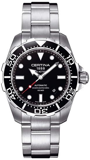 4ef178e377e6 Certina - Reloj analógico automático para hombre