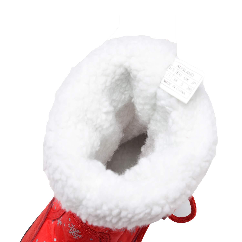 Shenda Womens Mid-Calf Snow Boot E20612