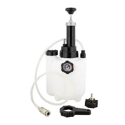 ABN | Manual European Brake Bleeder, Brake Bleed Pressure Brake Bleeder Kit, One Man Brake System Bleeder, 3 Liter: Automotive