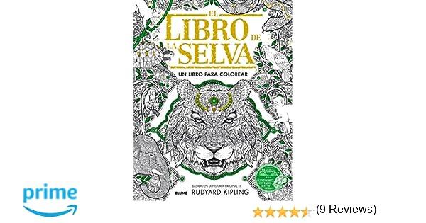 Libro de la selva: Un libro para colorear: Amazon.es: Rudyard ...
