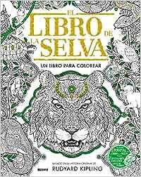 Libro De La Selva Un Libro Para Colorear Amazones