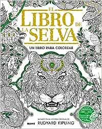 Libro de la selva: Un libro para colorear: Amazon.es