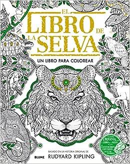 Libro de la selva: Un libro para colorear: Amazon.es ...