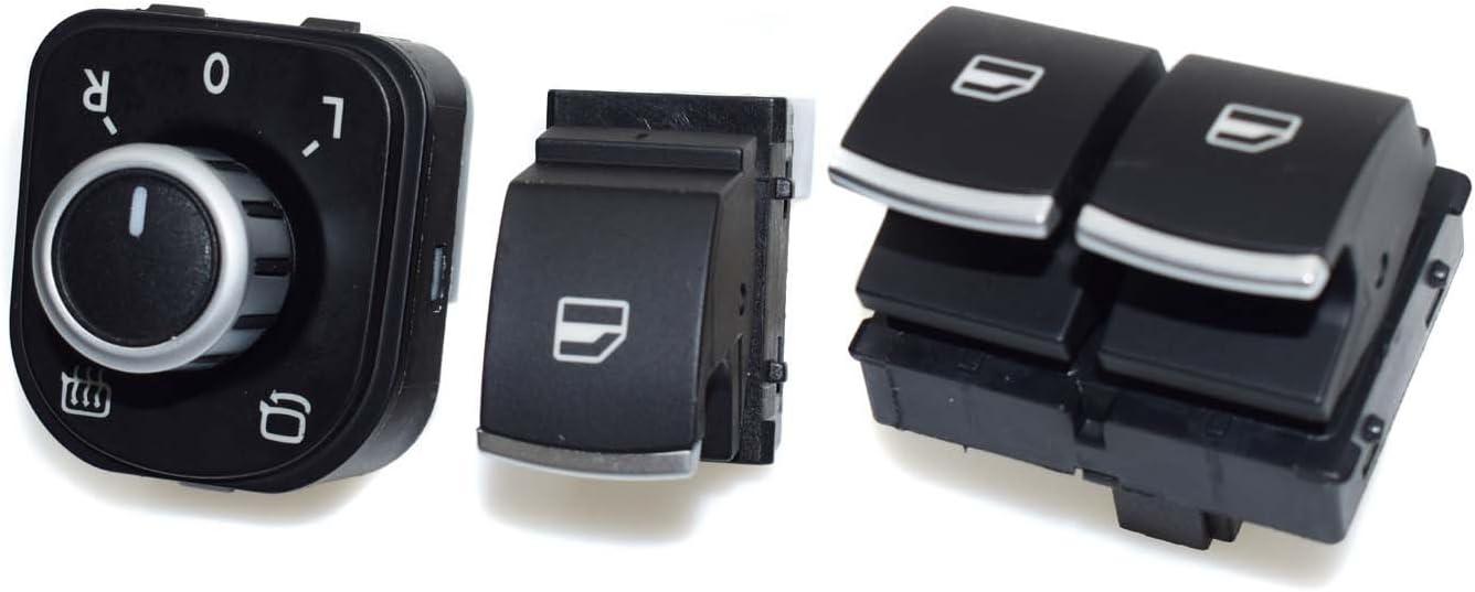 Fensterheberschalter Schalter 5k3959857 Neu Für Golf 6 Vi 2 Türer Cabrio Caddy Auto