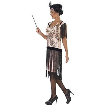 Amakando 20er Jahre Kostum Tanzerin Mafia Sexy Damenkostum S 36 38