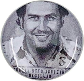 MALALPHA Insignia de Pin Pablo Escobar EL Patron 01: Amazon.es: Juguetes y juegos