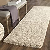 Safavieh California Premium Shag Collection SG151-1313 Beige Rug (2'3'' x 5')