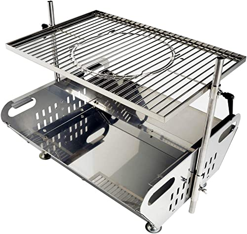 Skyflame Fire Pit Grill Combo
